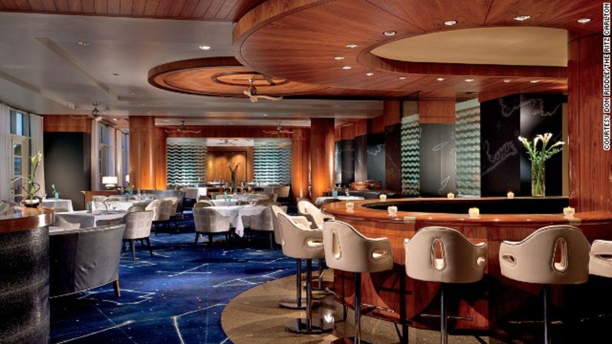 The world's best hotel restaurants in 2014