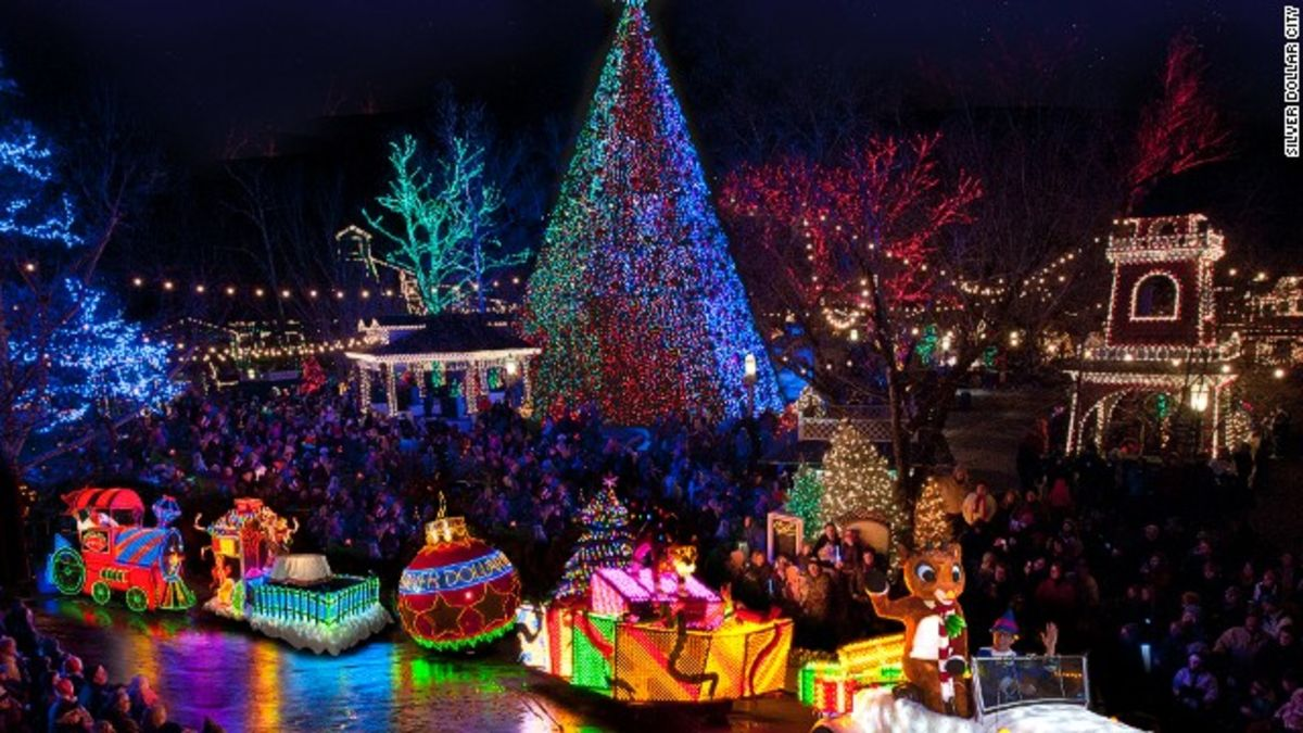 7 best places to see christmas lights in the usa cnn travel - When Does Branson Mo Decorate For Christmas