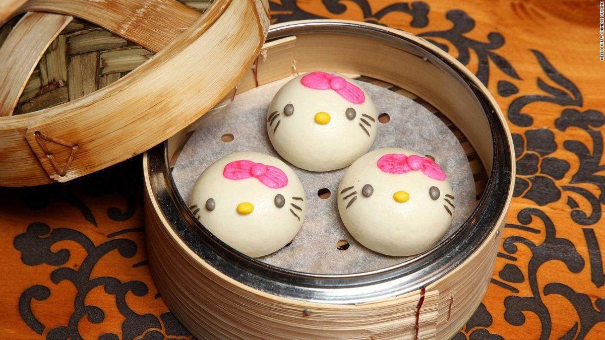 Hello Kitty Chinese Cuisine Hong Kong Dim Sum Cnn Travel