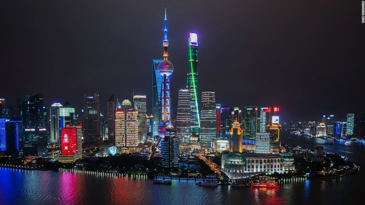 Shanghai 39 s futuristic architecture is sci fi come to life cnn travel - Shanghai skyline wallpaper ...