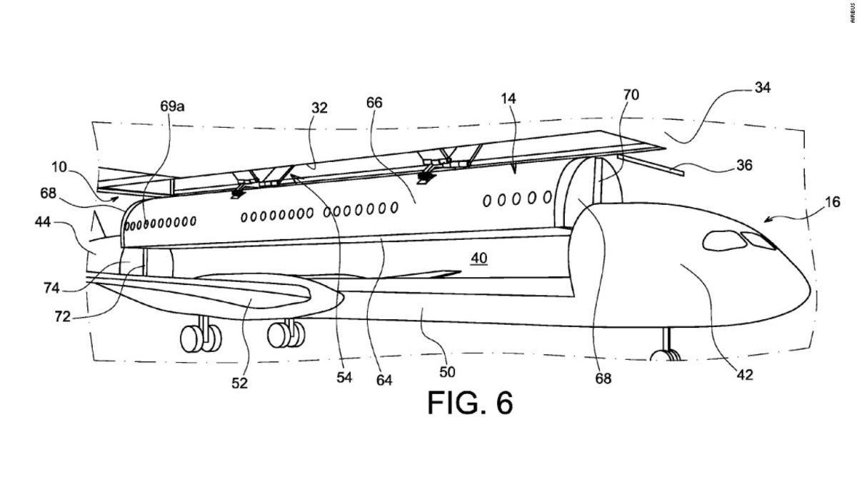 Out-there Airbus patent: Detach cabin from airplane