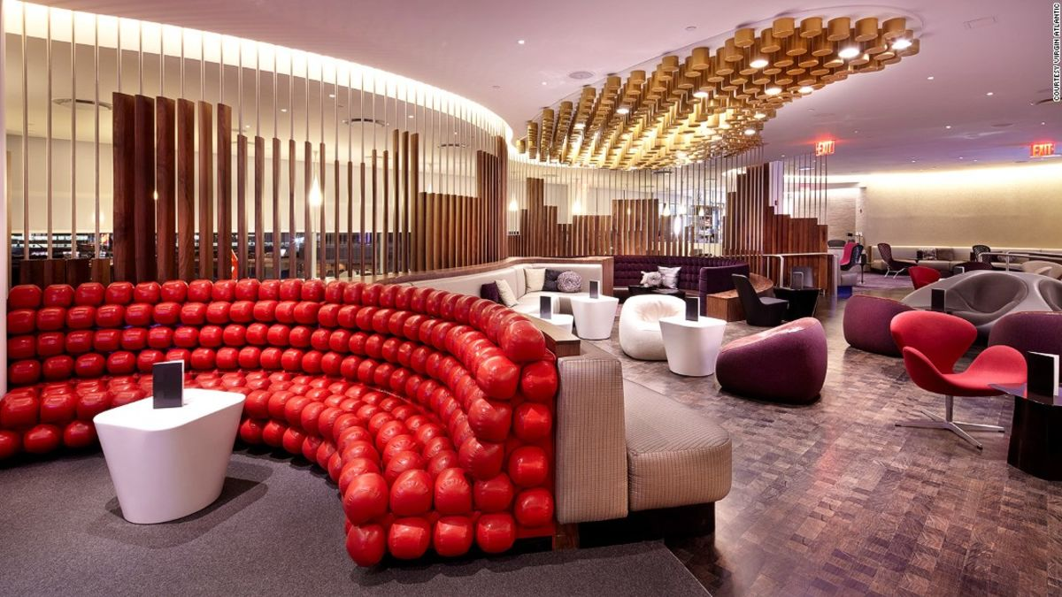 Airport lounges: Competing airlines improve their ground game