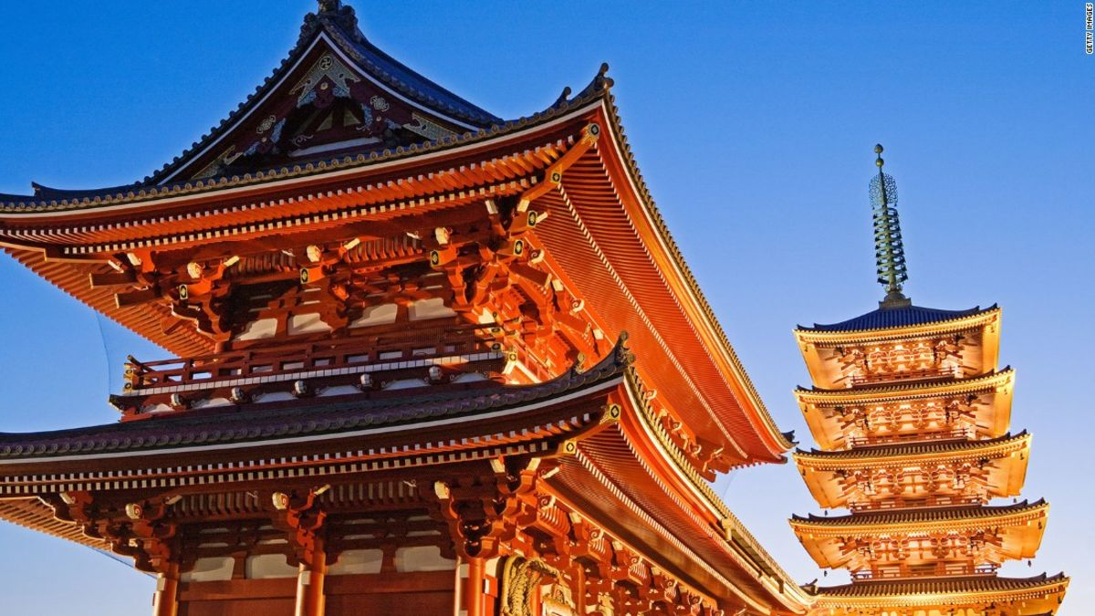 Temples in japan pictures