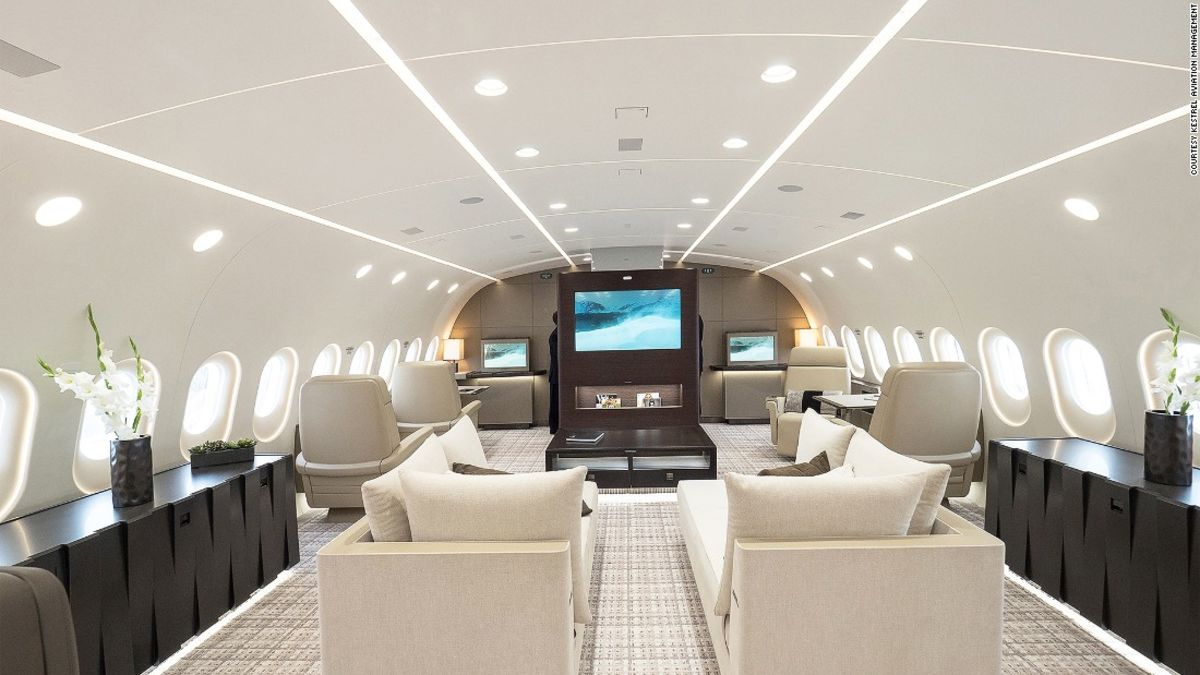 Luxury VIP jets: How the super-rich fly