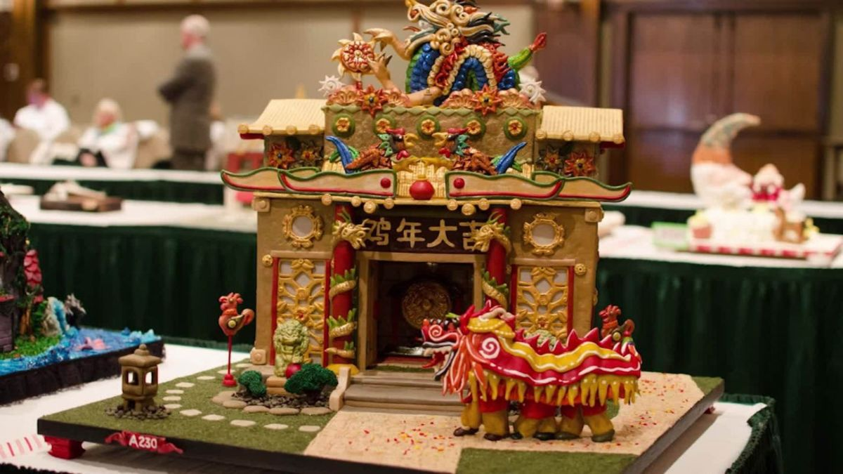 National Gingerbread House Day: the best of 2016 | CNN Travel on german cooking, german holidays, german christkind, german peach tart, german nativity, german lebkuchen, german chocolate, german heart, german incense smoker houses, german bread, old-fashioned german house, german christmas houses, german desserts, german cakes, german cookie house,