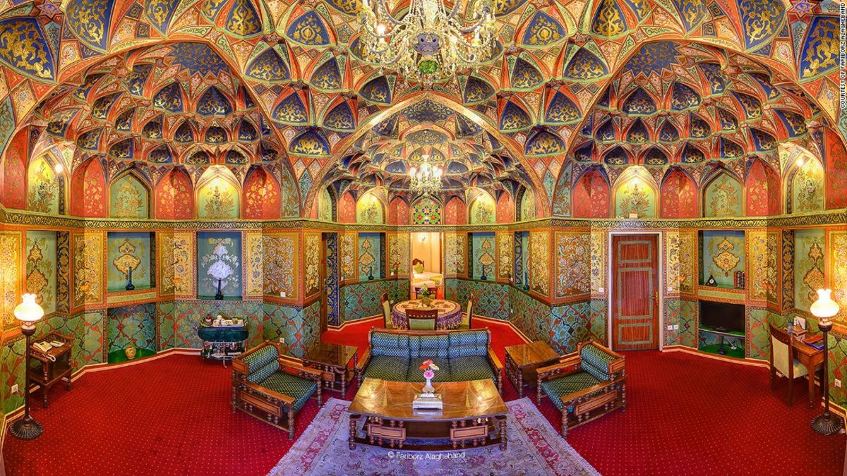 The Middle East's most beautiful hotel?