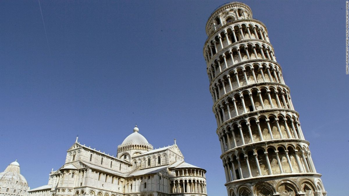 Leaning Tower Of Pisa Is Starting To Straighten Up Ever So