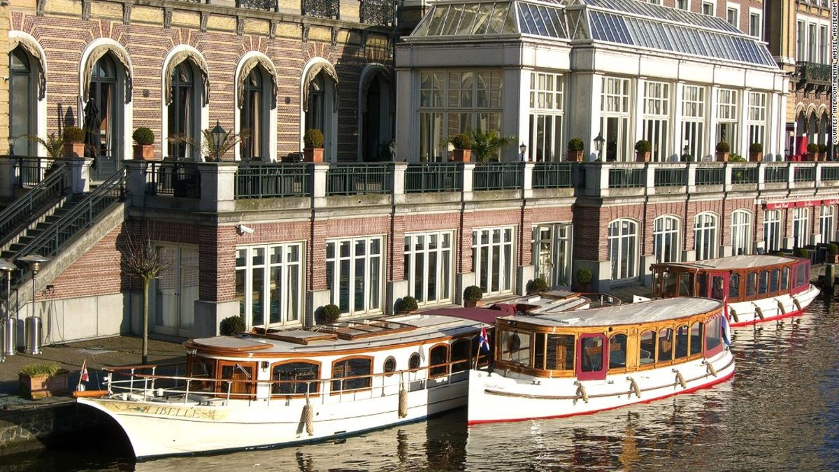 12 of Amsterdam's best canalside hotels