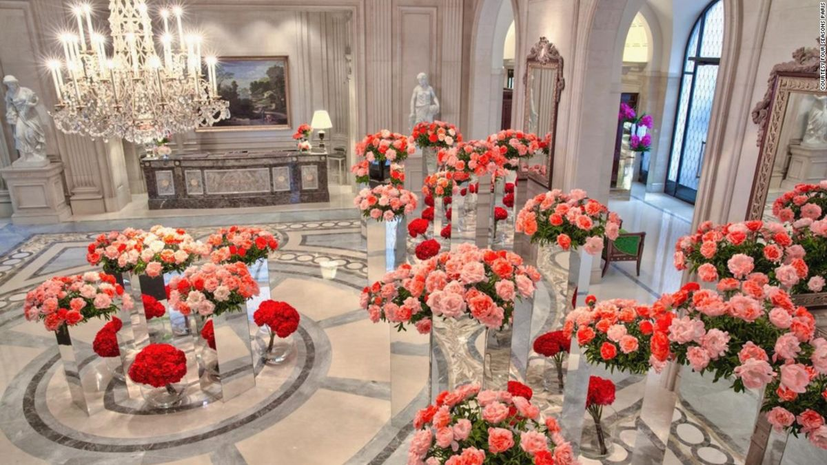 The world\'s most beautiful floral hotels | CNN Travel