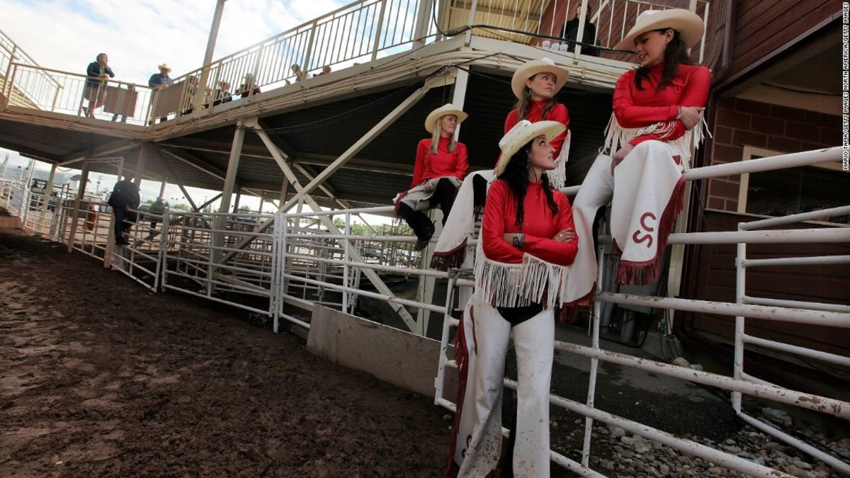 Fun Comes Riding In At The Calagary Stampede Photos