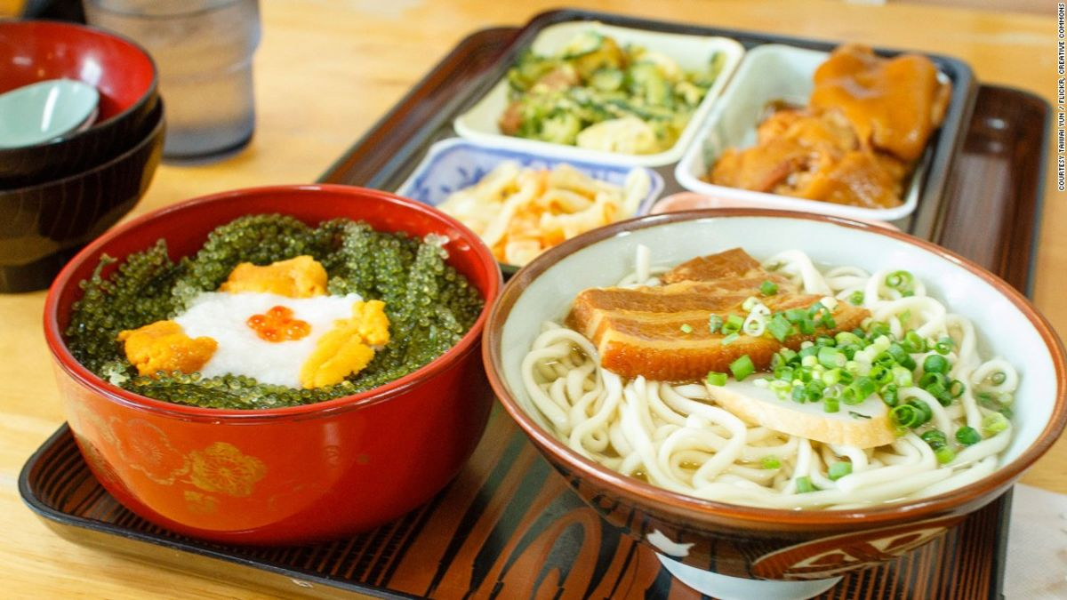 Okinawan cuisine the japanese food you don 39 t know cnn for Cuisine you