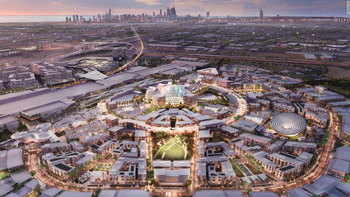 Countdown untuk Expo 2020: satu tahun untuk pergi