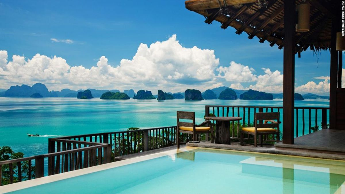 In Thailand's Phang Nga Bay, a luxury resort with a conscience
