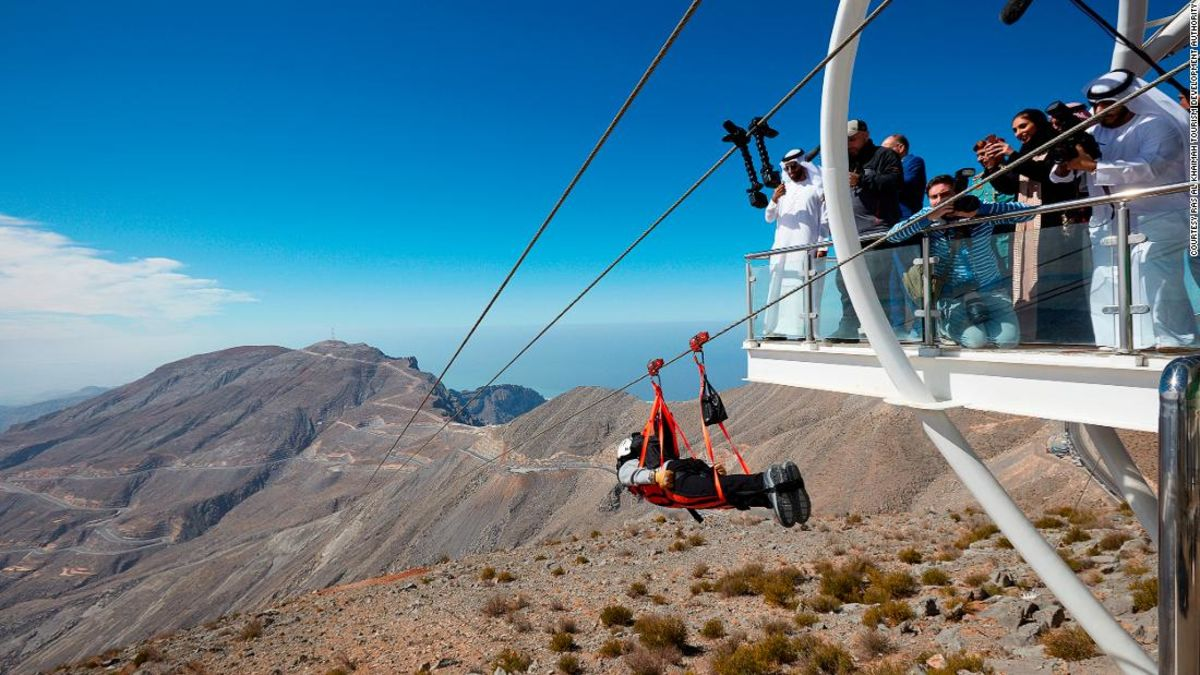 World\'s longest zip line coming to Ras Al Khaimah, UAE | CNN Travel