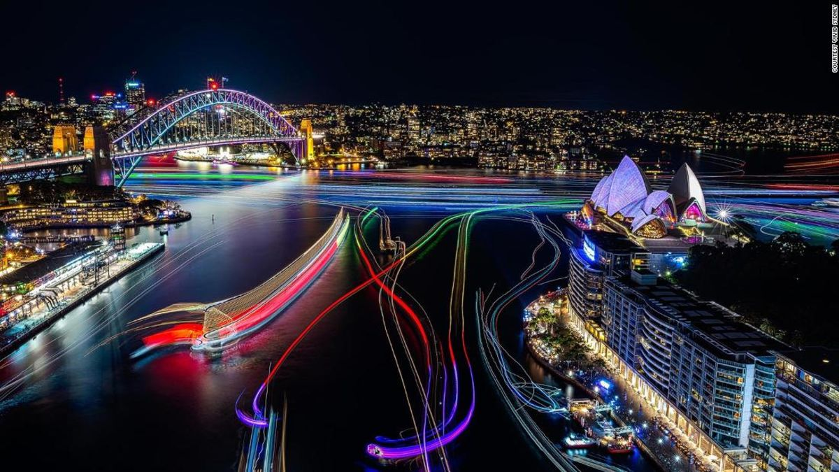 Vivid Sydney: World's most incredible light festival turns 10