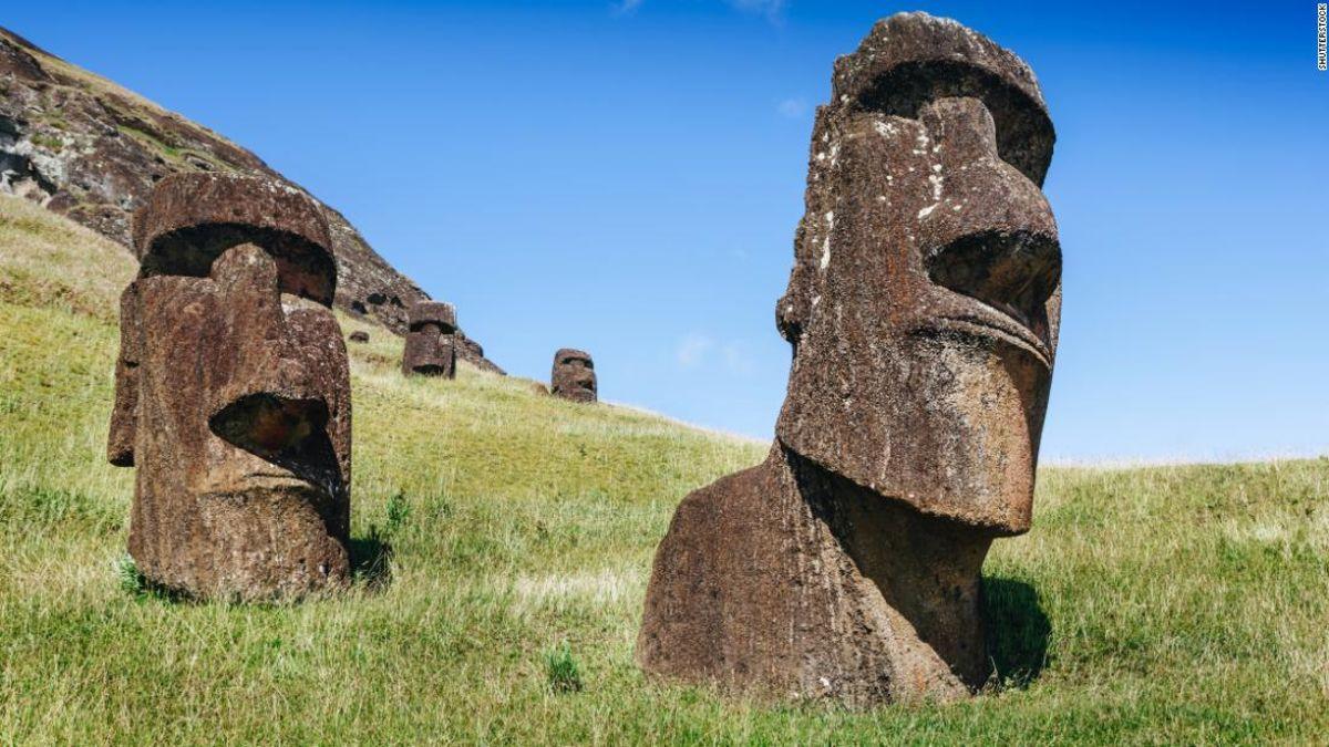 复活节岛限制了旅游业的保护工作