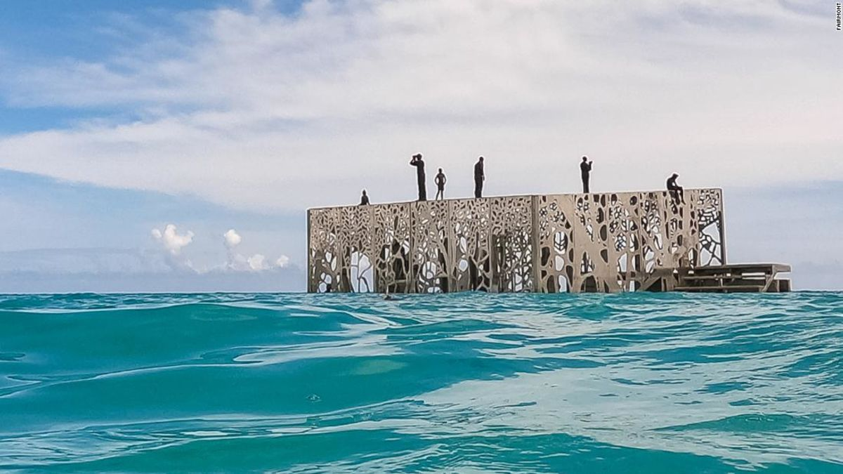 The Maldives debuts the world's first underwater museum | CNN ...