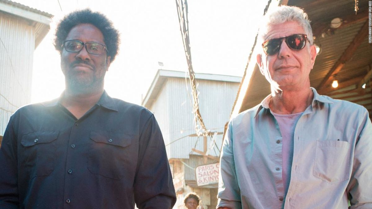 752aa15509 Kamau Bell opens up about working with Anthony Bourdain