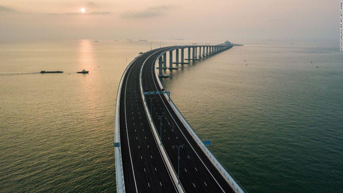 hong kong zhuhai macau bridge travel tips on how to cross it cnn