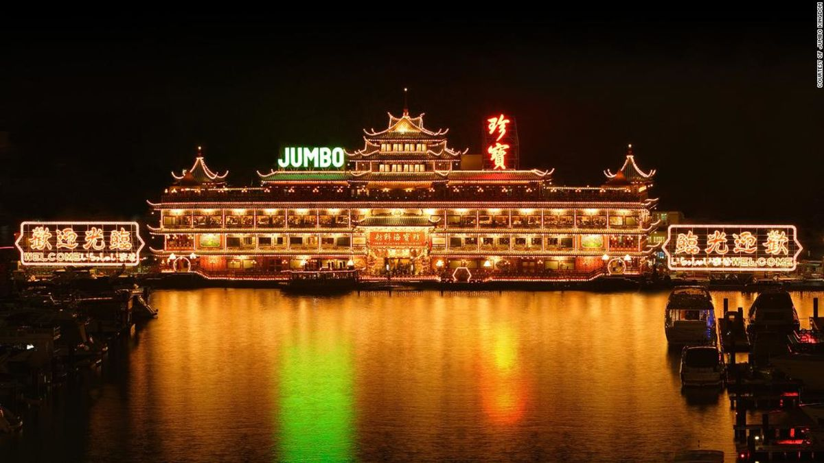 Jumbo Kingdom: World's largest floating restaurant