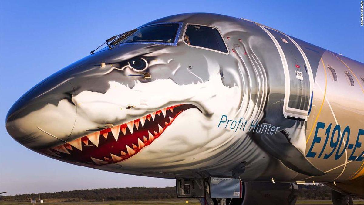 Image result for shark plane e2