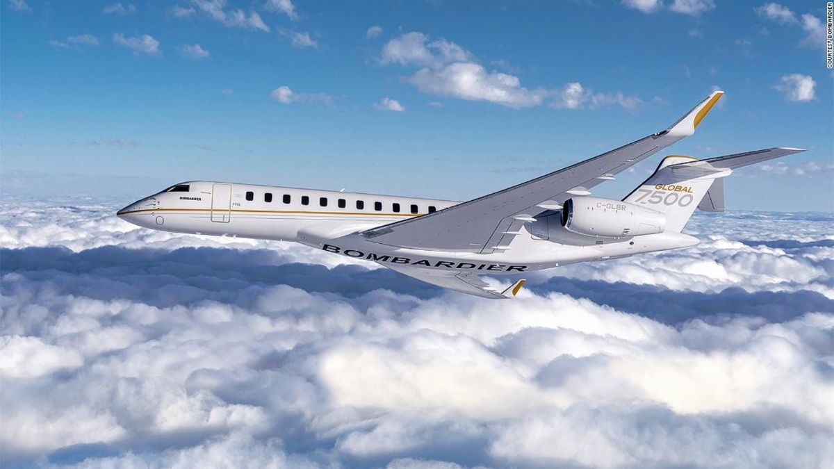 Behind the scenes at a private jet factory