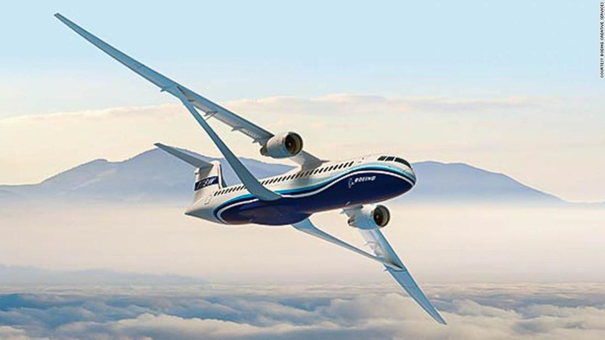 Boeing 'transonic' wing will mean faster jets