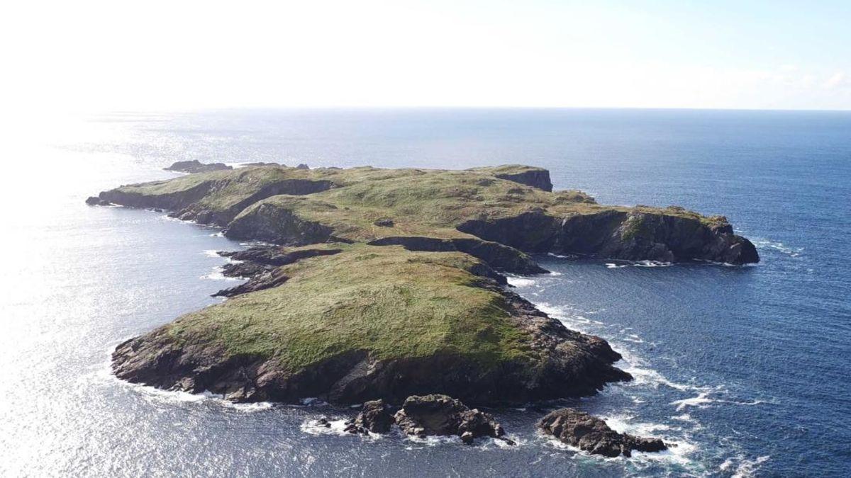 Deserted Irish island on sale for $1.4 million