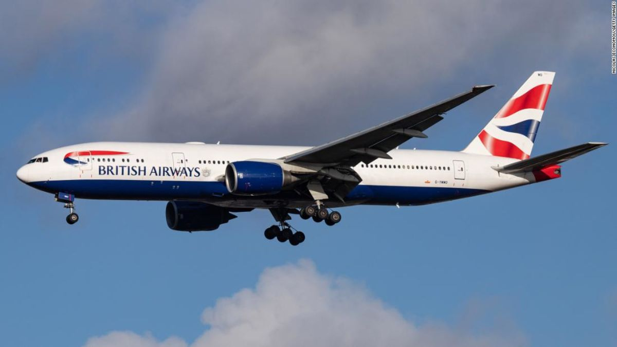 New British Airways flight is just 54 miles