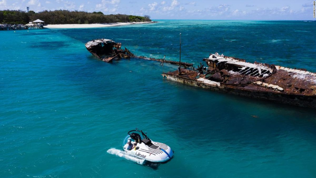 Join a rideshare to the Great Barrier Reef with scUber