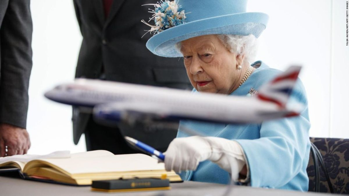 Why Queen Elizabeth is 'muddled' about flying