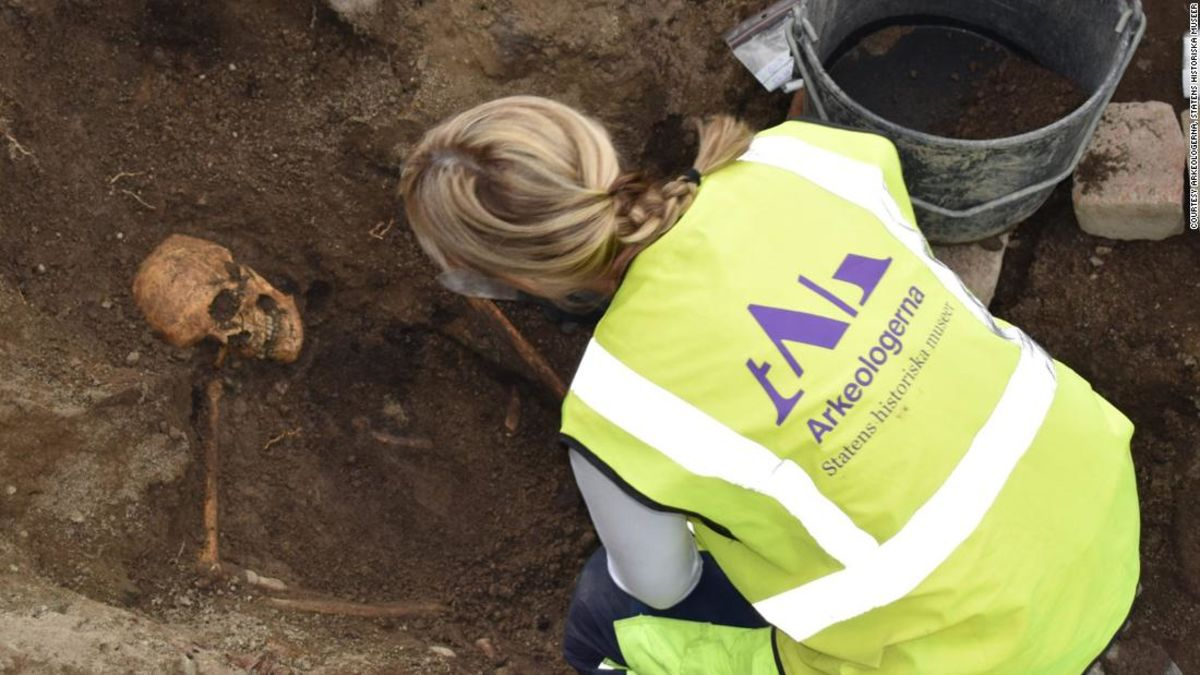 Archaeologists expected a routine dig in Sweden, but they