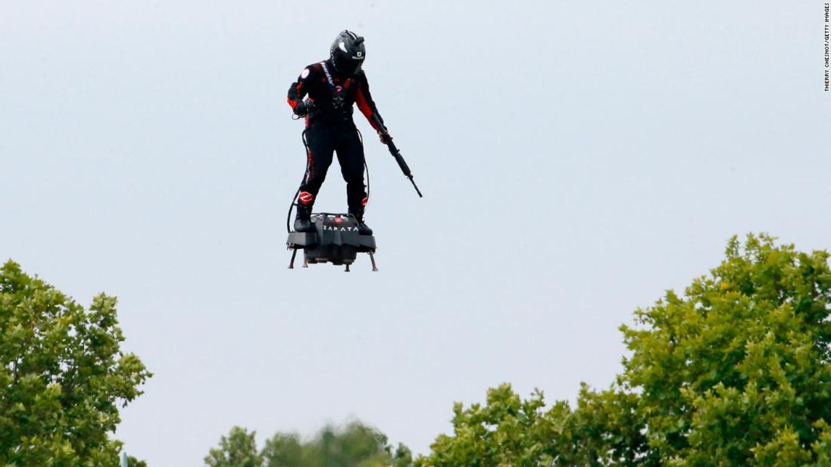 France's 'flying soldier' to attempt English Channel crossing Thursday