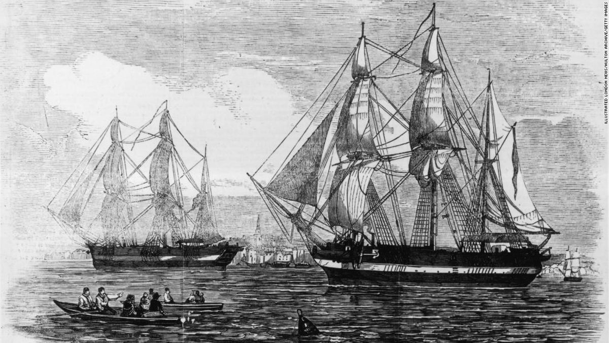 An Arctic shipwreck 'frozen in time' is revealing new details of a tragic 1845 expedition