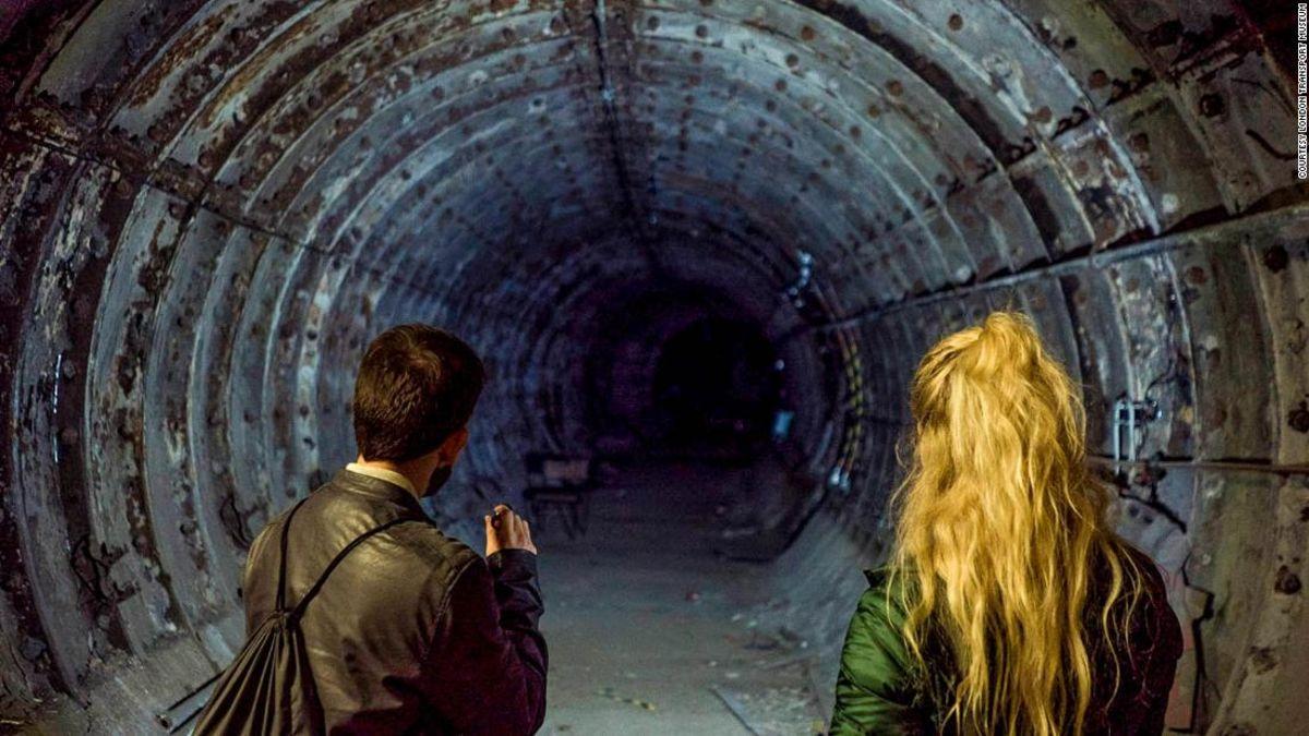 Exploring London's abandoned underground stations