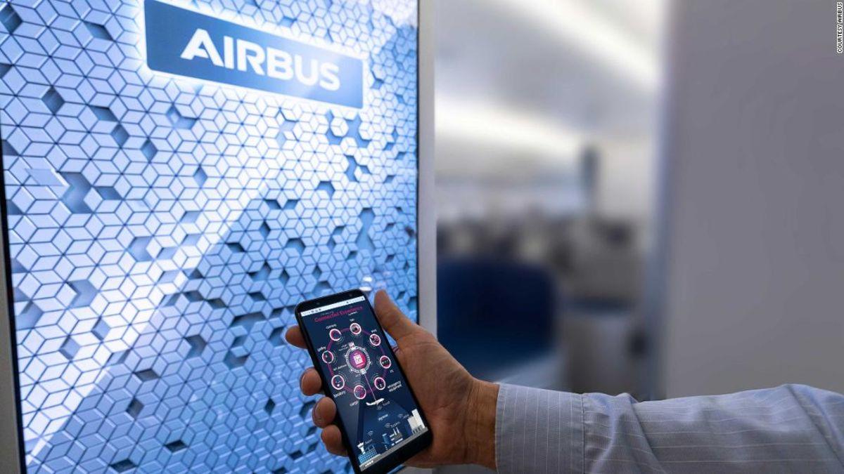 Airbus kabin pesawat masa depan akan memiliki kamera yang luar toilet