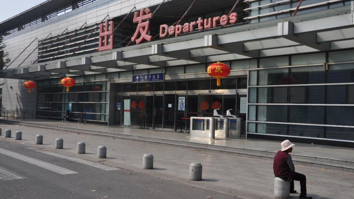 中国初の空港閉、ドアの北京の後109年