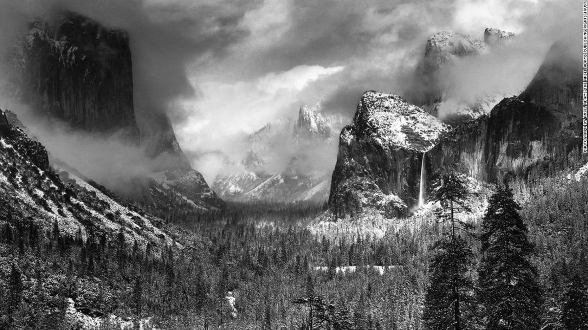 Ansel Adams' take on Yosemite National Park