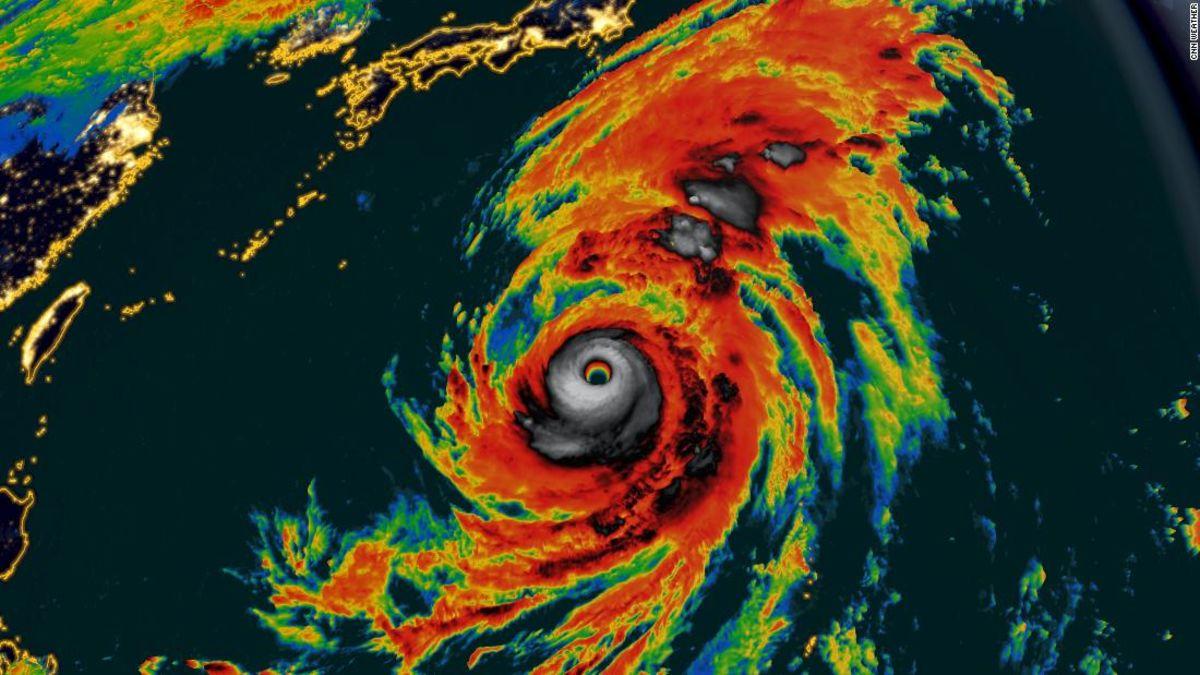 Bagaimana Topan Hagibis dapat mempengaruhi perjalanan Jepang