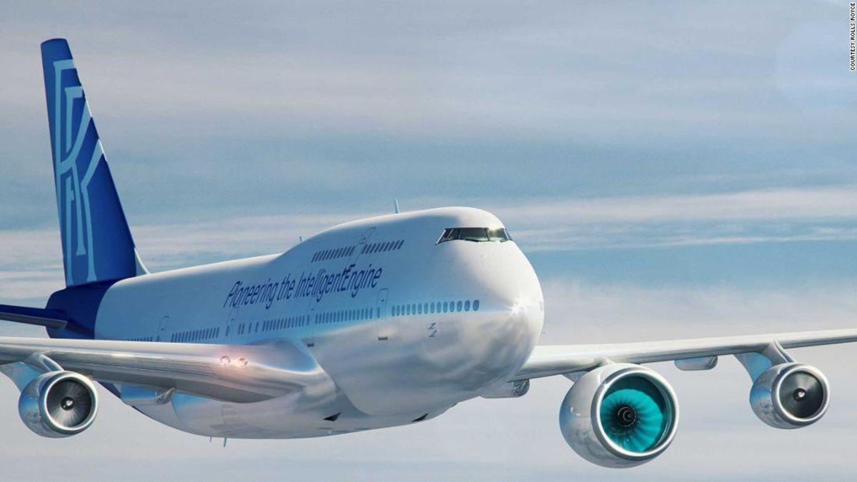 Συνταξιούχος Boeing 747 για να γίνει το πεδίο δοκιμών για το νέο επαναστατικό μηχανές