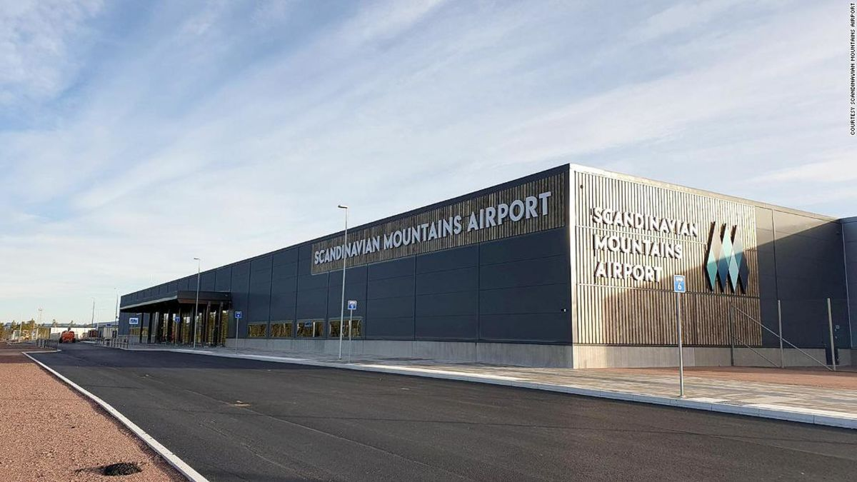 Was fehlt, von dieser neuen Flughafen? Ein air traffic control tower