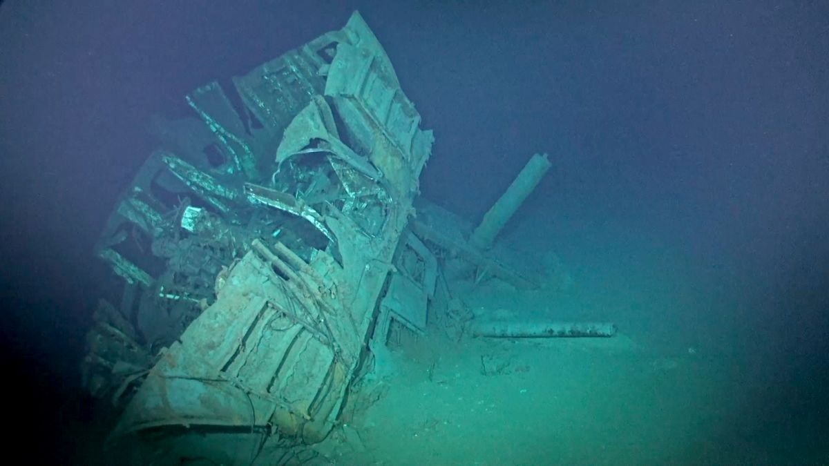 USS Johnston: World's deepest known shipwreck from World War II discovered  | CNN Travel