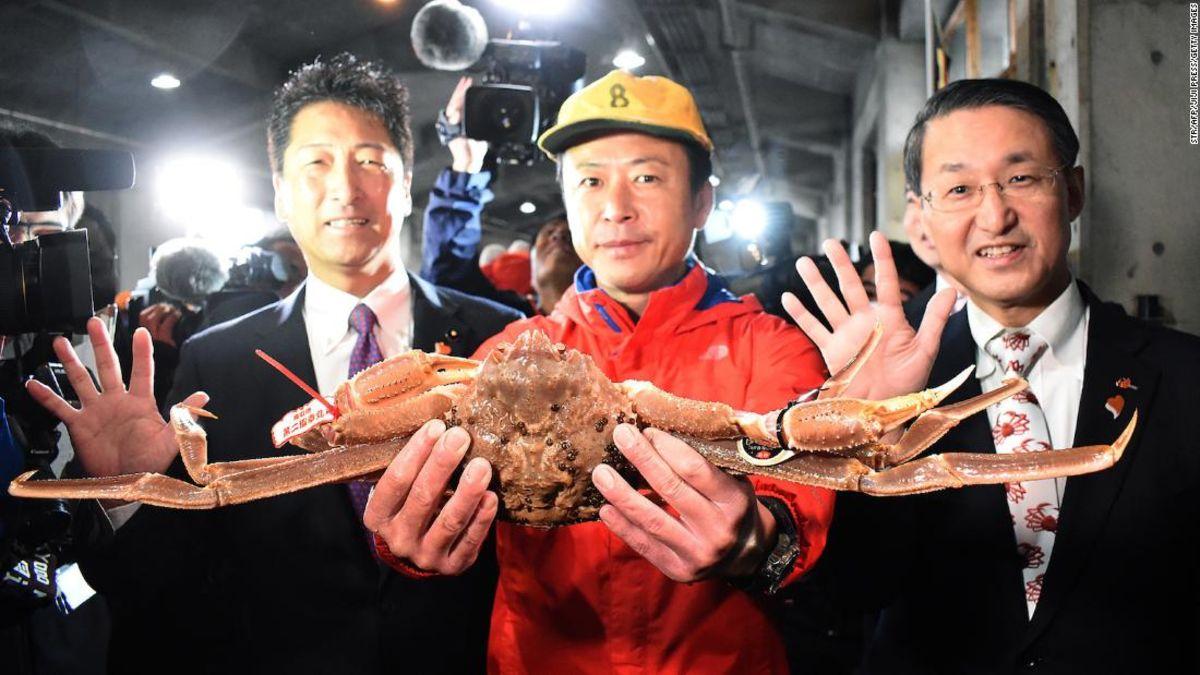 Die Krabbe im Wert von $46,000