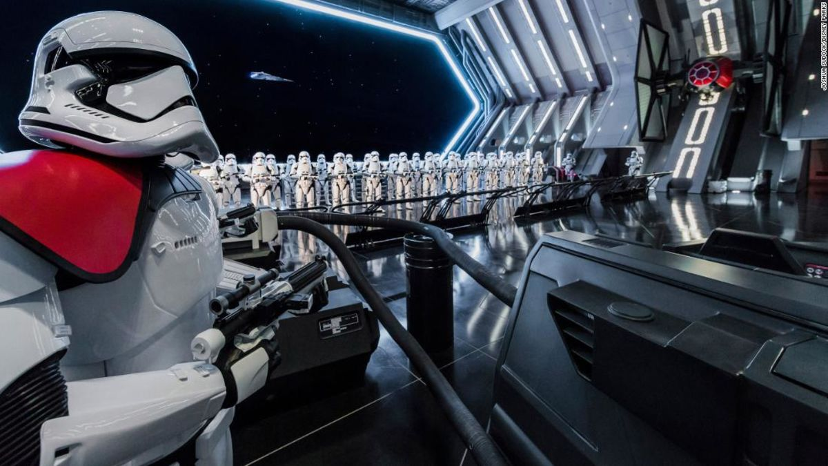 Star Wars' Rise Of The Resistance Ride Opens