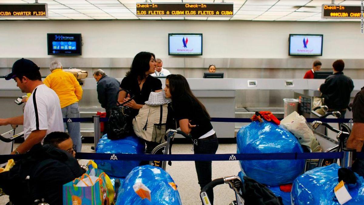 UNS Fetzen Flüge nach neun kubanischen Destinationen, indem auf die Liste der Sanktionen zu bestrafen