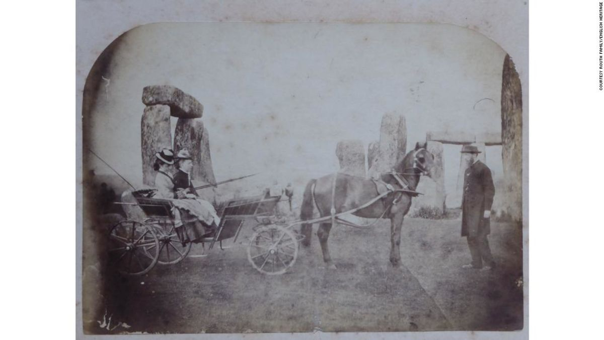 Is this the oldest family vacation photo of Stonehenge?