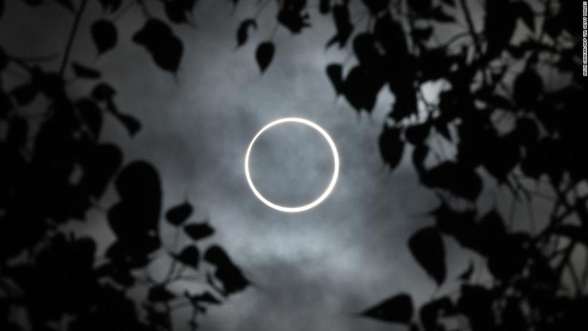 Verpassen Sie die 'ring of fire' solar eclipse? Hier sind die Fotos, die Sie sehen sollten