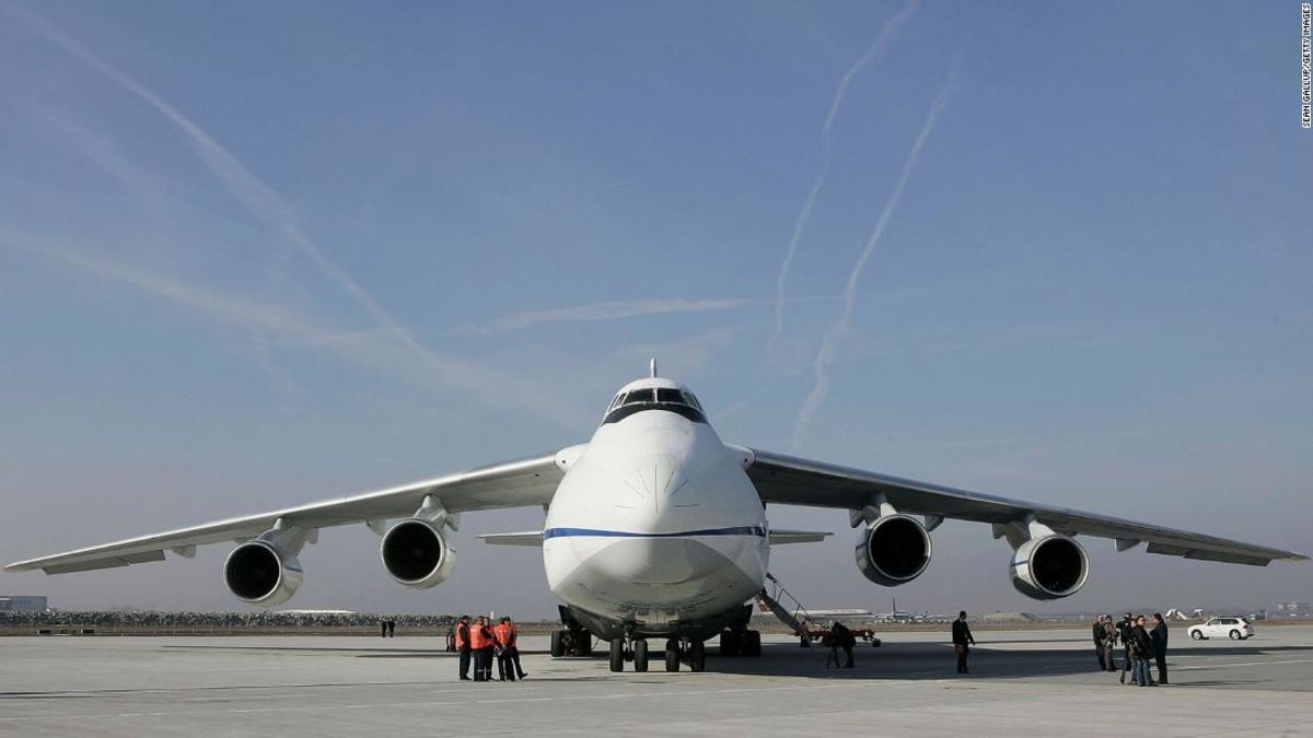 Exploring the World's Biggest Airplane, the Antonov 225 ...