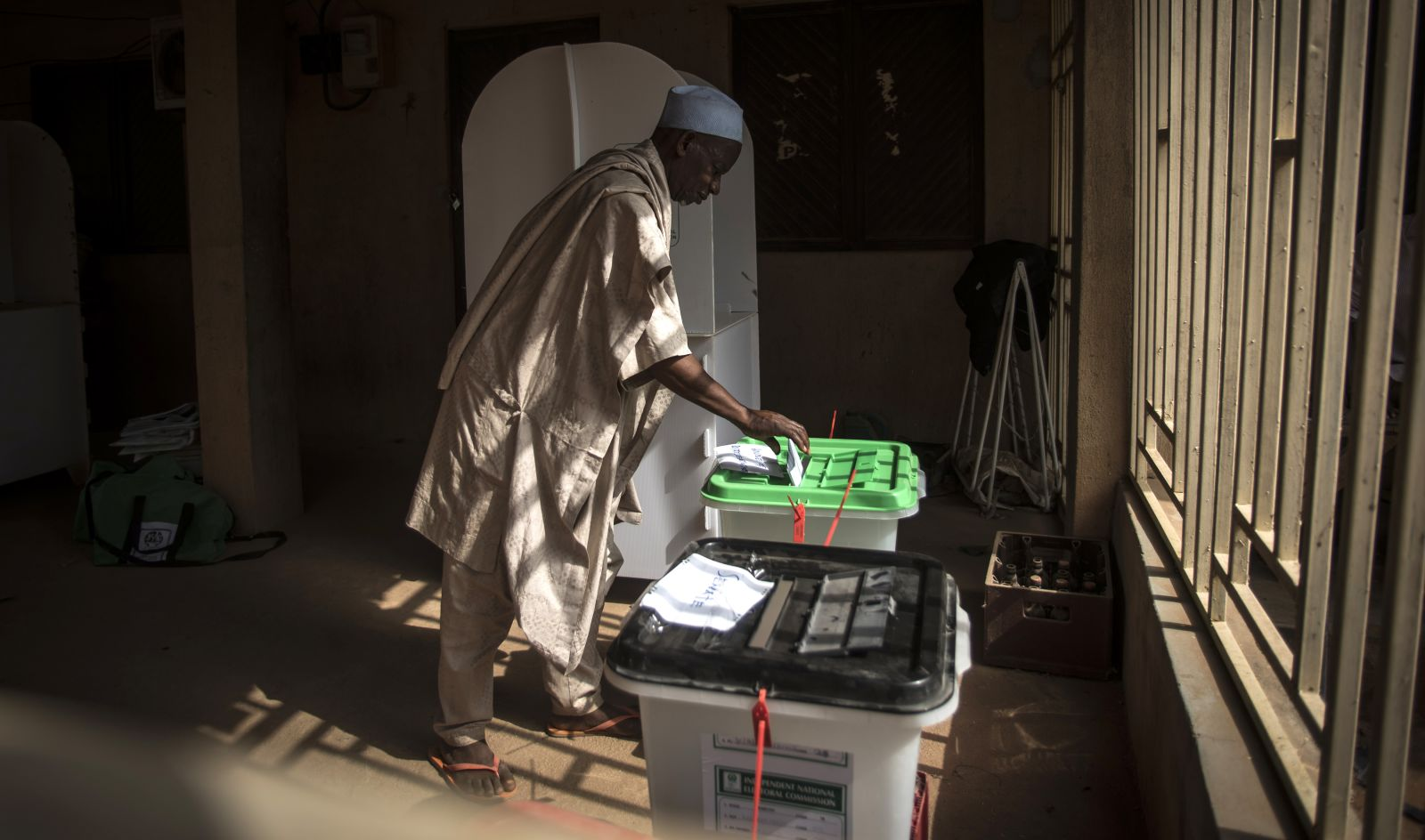 In photos: Nigerians vote in a contentious election