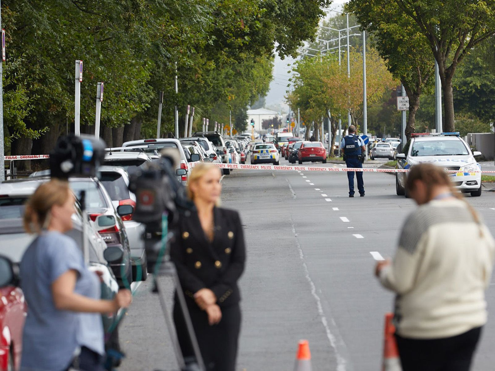 Terror attack at New Zealand mosques